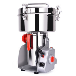 1000g Stainless Steel Electric Grain Grinder Mill for Grinding
