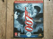 007 Everything or Nothing Official Strategy Guide Xbox PS2 Nintendo Gamecube.