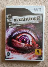 Manhunt 2 Wii / neuf blister . full Fr . rare