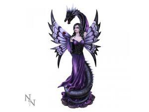 GUARDIANS EMBRACE Extra Large 60cm Fairy & Serpent Figurine Nemesis Now FREE P+P