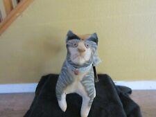 "Vergie Lightfoot Barn Barnyard Cats Art Bethany Lowe Designs 13"" With Tag"