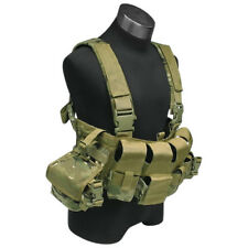 Flyye Military Tactical Chest Rig Lbt 1961A Band 4 Range Mag Pouches Multicam