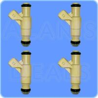 New OEM Fuel injector YF6CE-A5A SET OF 4 for Ford and Mercury 1997 -2002