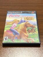 Barbie Horse Adventures: Riding Camp (PlayStation 2 PS2, 2008) COMPLETE