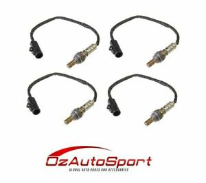 4 x o2 Oxygen Sensors for Ford Falcon FG 5.4 - Vehicle Kit