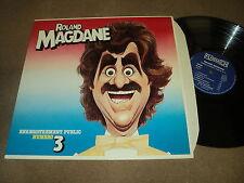 """@ ROLAND MAGDANE 33 TOURS LP 12"""" FRANCE ENREGISTREMENT PUBLIC NUMERO 3"""