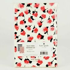 Kate Spade Notebook Set of 2 Journals 4x6 Live It Black Stripe 80 Pgs Each