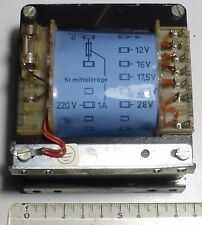 Transformateur secteur 220 Volts sortie BT 12 Volts à 28 Volts