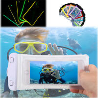 Underwater Waterproof Bag Pouch Dry Case Cover For Samsung iPhone Cell Phone