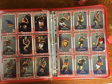 2012 Champions Complete Silver Peel And Reveal Set Mounted On Card