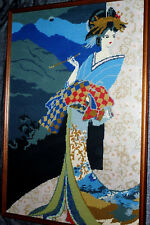 Japanese Wall Art Geisha Girl Tapestry Painting Restaurant Chinese oriental chop