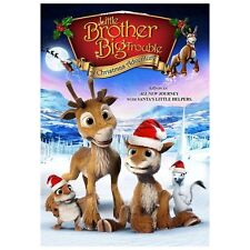 Little Brother, Big Trouble: A Christmas Adventure (DVD, 2013)