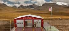 "BK 4314 1:43 Scale  ""Fire Department"" Photo Real Scale Building Kit"