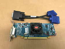 Dell GX745, 755, 760, 780 SFF AMD F512MB PCI-e  Video card w/Dual VGA Cable
