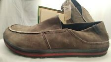 Simple Suede Slip On Casual Shoes Mens Size 14