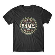 New York Skate T-Shirt 100% Cotton Premium Tee New