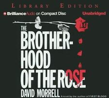 The Brotherhood of the Rose by David Morrell (2005, CD, Unabridged) Audiobook