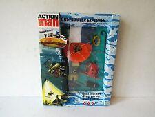 Vintage action man 40TH explorateur sous-marin film unité set boxed mip (AM176)