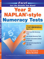 Excel Year 2 NAPLAN - Style Numeracy Tests