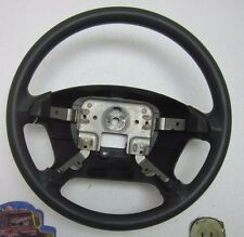 2002 02 KIA RIO CINCO WAGON STEERING WHEEL RX-V BLACK OEM