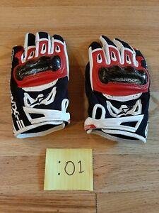 Alpinestars Combo SMX-2 Air Carbon V2 Gloves Black/White Large