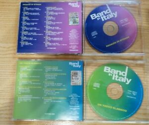 8 CD BAND IN ITALY