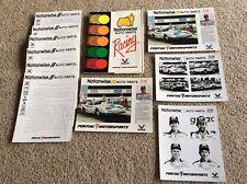 1987 Pontiac Nhra drag racing press kit, Nationwise auto parts racing