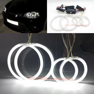 CCFL halo rings for Seat ibiza 6L Cordoba LCI 2003-2009 headlight angel eye DRL