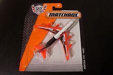 Matchbox diecast Boeing 747-400 DKG89 2015 MBX Sky Busters series