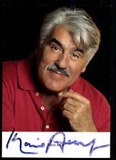 Mario Adorf Autogrammkarte Original Signiert ## BC 33312