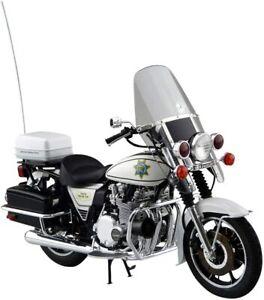 Aoshima 1/12 Bike Series No.54 Kawasaki KZ1000 Police Plastic Model motorcycle