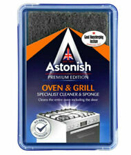 Astonish Oven & Grill Cleaner With Scourer Sponge 250g Premium Edition