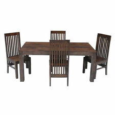 Contemporary Rectangle Solid Wood Kitchen & Dining Tables