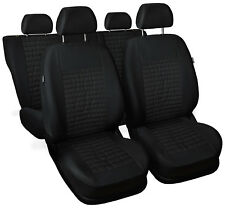 CAR SEAT COVERS full set fit Seat Toledo - leatherette Eco leathe black