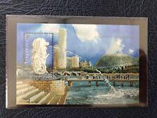 2007 SINGAPORE TOURIST LANDMARKS M/S MNH