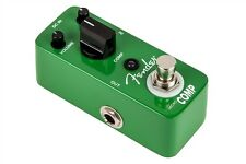 Fender Micro Compressor Effects Pedal/Stomp Box for Guitar 023-4511-000