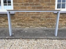 PRIVATE LISTING H90 W170 D15cm BESPOKE CONSOLE TABLE (see main page for details)