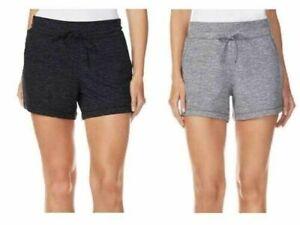 32 DEGREES Cool Women's Lightweight Fleece Lounge Short w Pockets