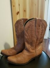 Womens Pecos Bill Western Boots size 8 1/2 made in Mexico