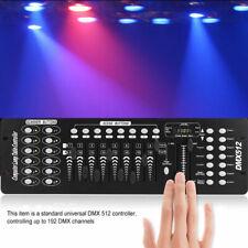192 Kanäle DMX512 Controller Konsole Laser Bühnenlicht DJ Lichteffekt Equipment