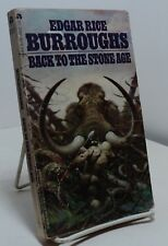 Back to the Stone Age by Edgar Rice Burroughs - cover by Frazetta - Ace 04632