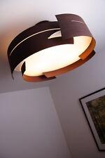 Plafonnier Lampe suspension Lustre Lampe pendante Éclairage de salon Verre 67715