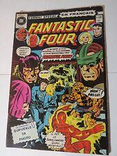 FANTASTIC FOUR 177 B&W French comic Heritage 66 + INHUMANS 2