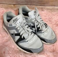 NIKE AIR  Mens Gray Black Athletic Shoes Size 10