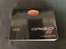 New Genuine Moto Guzzi Griso V 1200 8V 2007-2008 Use+Maintenance Book 978409
