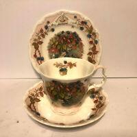 Royal Doulton Brambly Hedge Autumn Mug Saucer Plate 1983