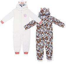 Secret Life of Pets Gidget Hooded Fleece Onesie Sleepsuit Pyjamas Kids Age 5-6