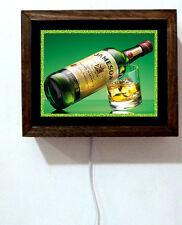 Jameson Whiskey Irish Pub Bar Tavern Bottle Man Cave Alcohol Light Lighted Sign