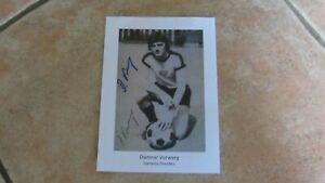 Dietmar Vorwerg Dynamo Dresden originalsigniertes Autogrammbild