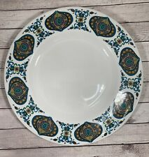 More details for retro dinner plate 26 cm midwinter pottery - bengal- jyoti bhomik